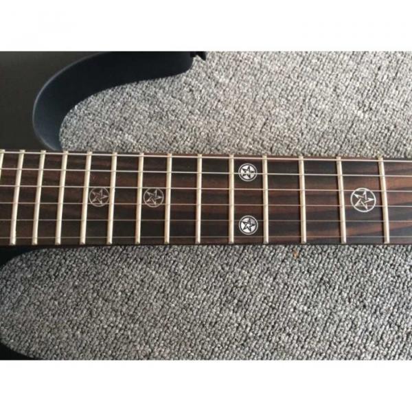 Custom Shop EVL K4 Cort Black Electric Guitar #5 image