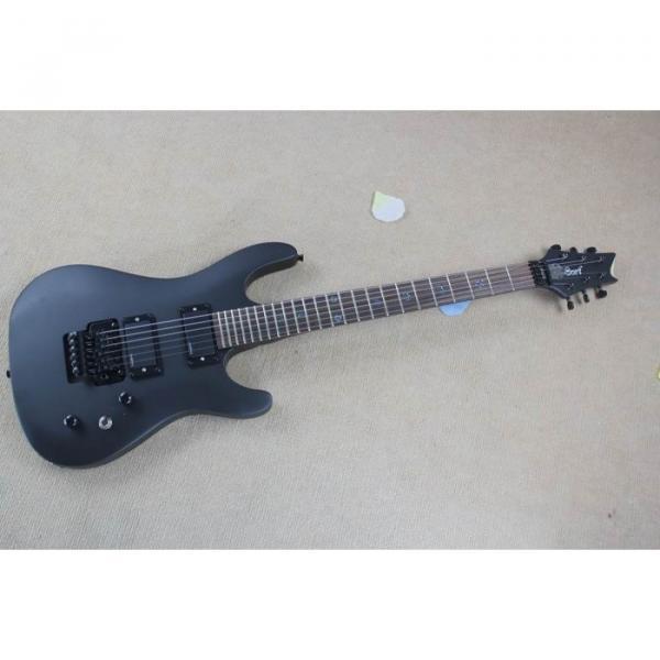 Custom Shop Cort Black Electric Guitar #1 image