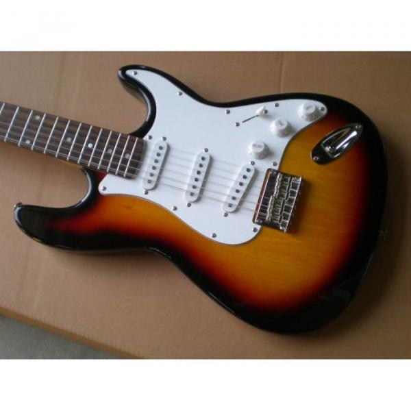 Custom Shop 12 String Stratocaster Sunburst Electric Guitar #1 image