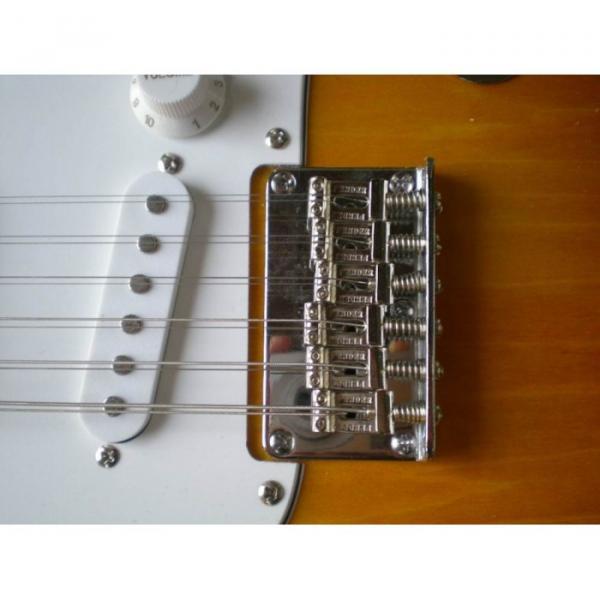 Custom Shop 12 String Stratocaster Sunburst Electric Guitar #4 image