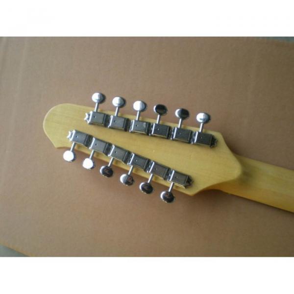 Custom Shop 12 String Stratocaster Sunburst Electric Guitar #5 image