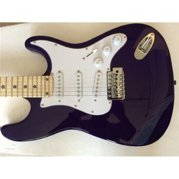 Custom American Stratocaster Purple Electric Guitar #1 image