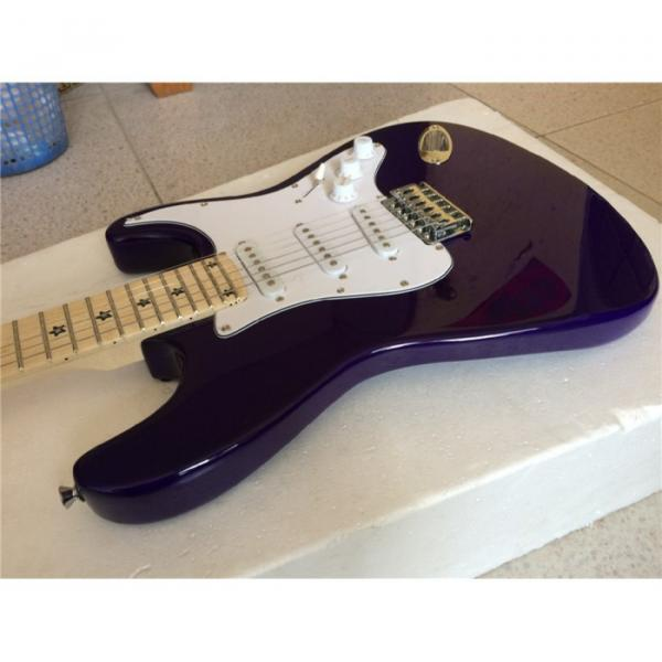 Custom American Stratocaster Purple Electric Guitar #2 image