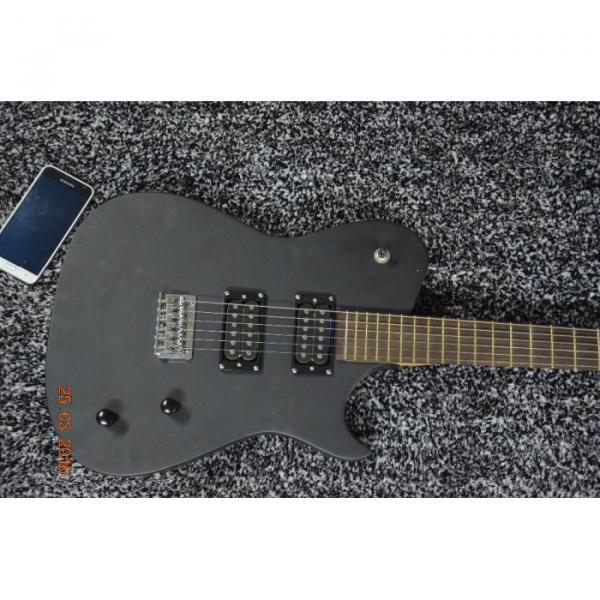 Custom American Standard Manson Telecaster Matte Black Electric Guitar #1 image