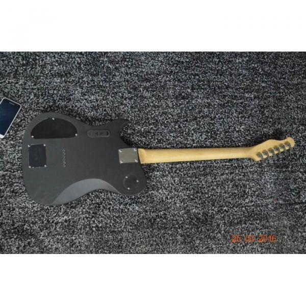 Custom American Standard Manson Telecaster Matte Black Electric Guitar #2 image