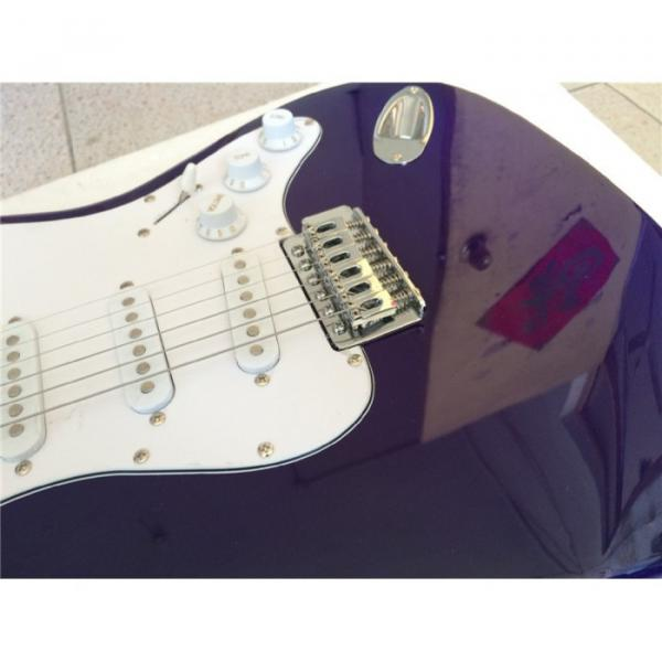 Custom American Stratocaster Purple Electric Guitar #5 image