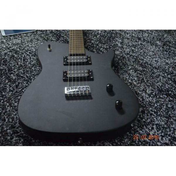 Custom American Standard Manson Telecaster Matte Black Electric Guitar #3 image