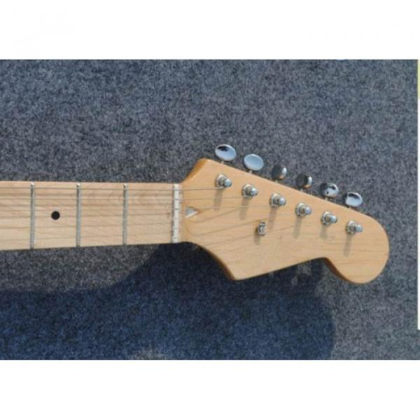 Custom American Stratocaster Gold Electric Guitar #5 image
