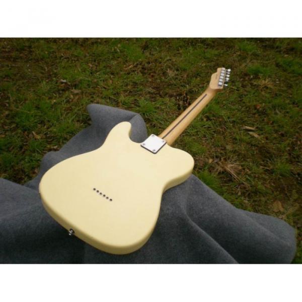 Custom American Standard Danny Gatton Telecaster White Electric Guitar #5 image