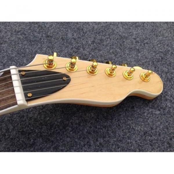 Custom American Standard Telecaster Vintage Flame Maple Top Electric Guitar #3 image