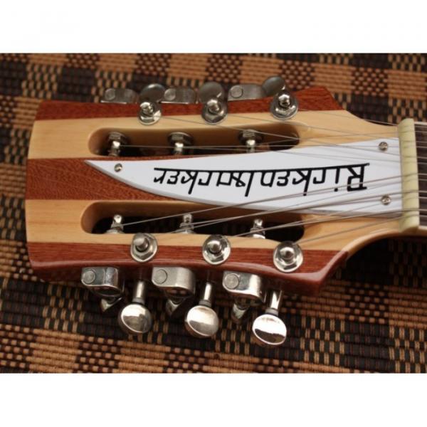 Custom Shop Rickenbacker Natural 12 Strings Guitar #4 image