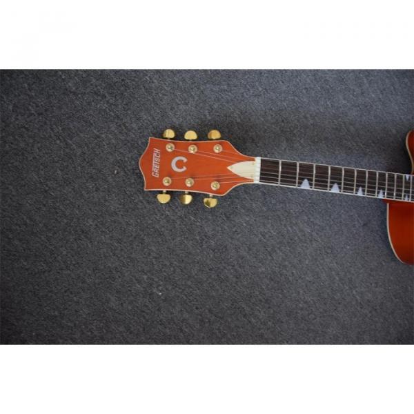 Custom Shop Gretsch Orange Falcon Nashville Jazz Electric Guitar #6 image