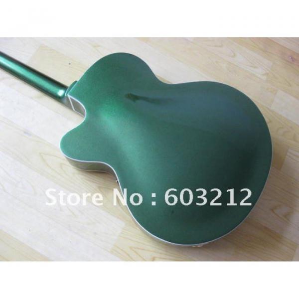 Custom Shop Green Gretsch Nashville Electric Guitar #7 image