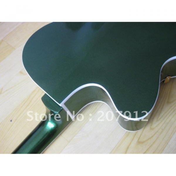 Custom Shop Green Gretsch Nashville Electric Guitar #8 image