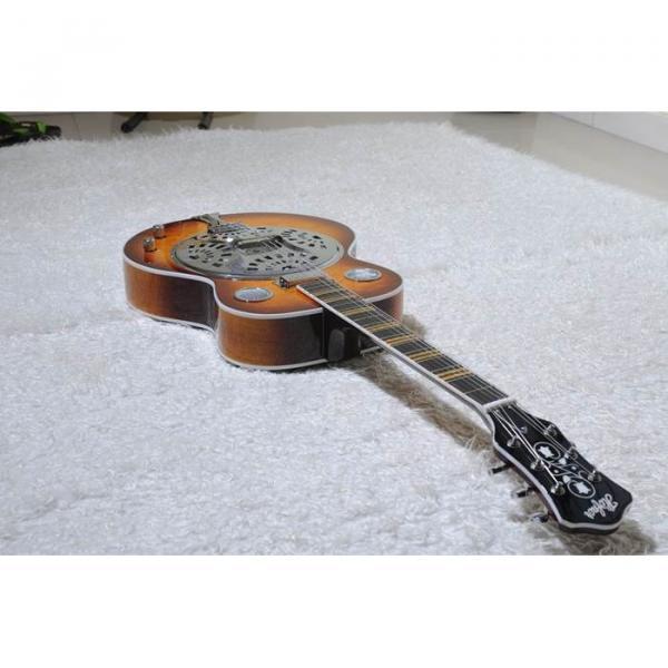 Custom Shop Hofner Sunburst Resonator Guitar #3 image