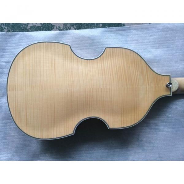 Custom Hofner Jubilee Union Jack Paul Mcartney Violin Bass Guitar #6 image