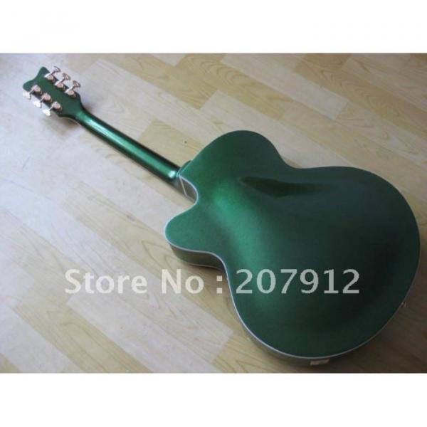 Custom Shop Green Gretsch Nashville Electric Guitar #11 image