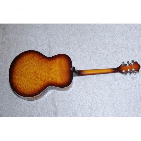 Custom Shop Hofner Sunburst Resonator Guitar #5 image