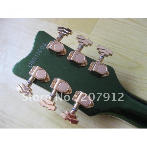 Custom Shop Green Gretsch Nashville Electric Guitar #12 image