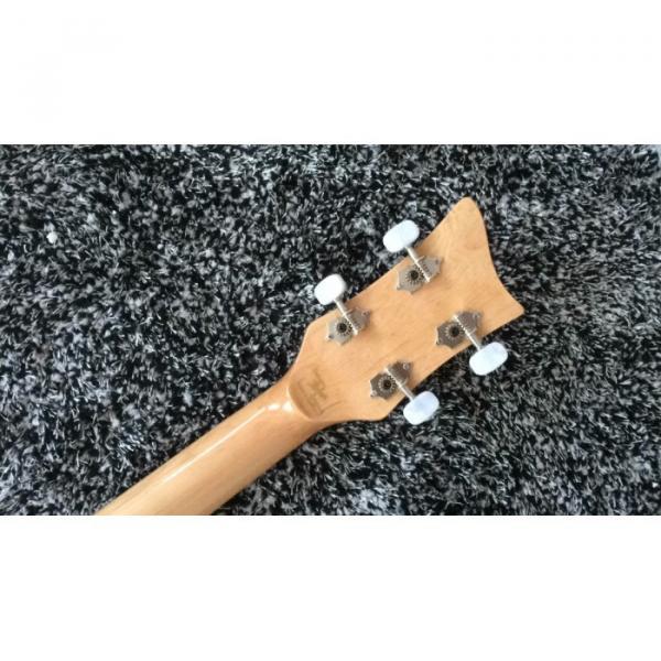 Custom Hofner Jubilee Union Jack Paul Mcartney Violin 4 String Bass Guitar #7 image