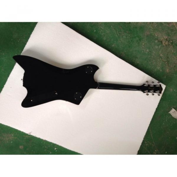 Custom Gretsch  Left Handed G6199 Billy-Bo Jupiter Thunderbird Black Authorized Bridge Guitar #10 image
