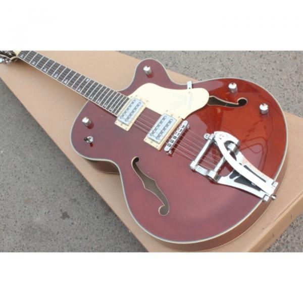 Custom Gretsch Brown Electric Guitar #6 image