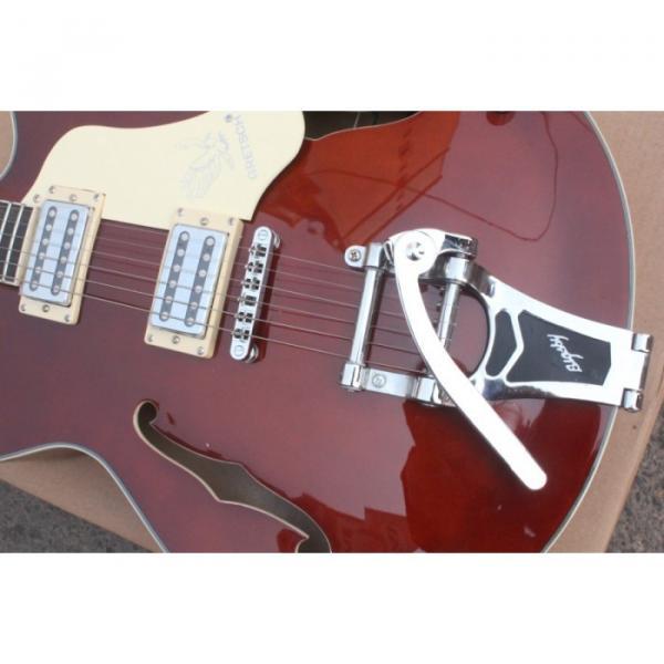 Custom Gretsch Brown Electric Guitar #8 image