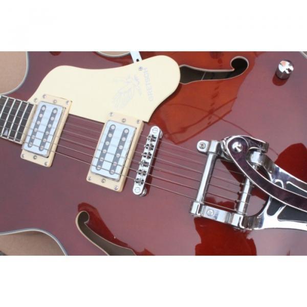 Custom Gretsch Brown Electric Guitar #10 image