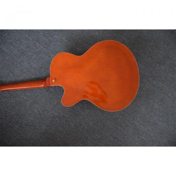 Custom Build Gretsch Orange Horseshoe Brian Setzer Bigsby Guitar #2 image