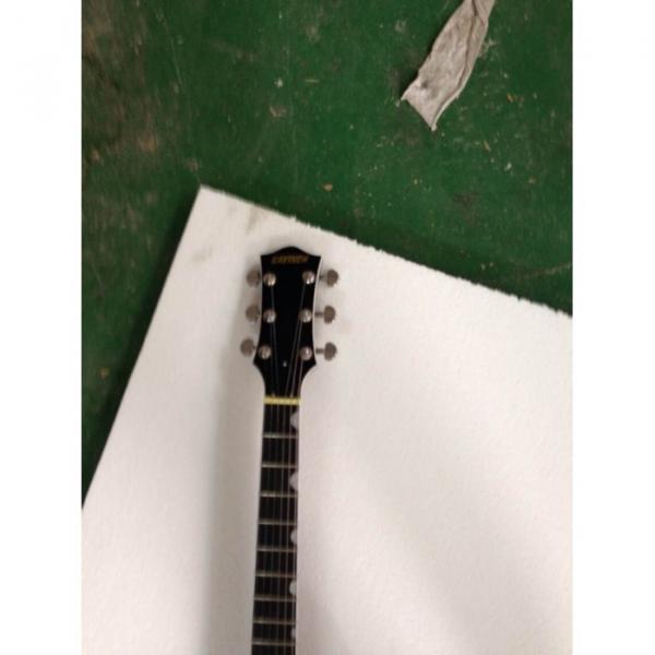 Custom Gretsch  Left Handed G6199 Billy-Bo Jupiter Thunderbird Black Authorized Bridge Guitar #11 image