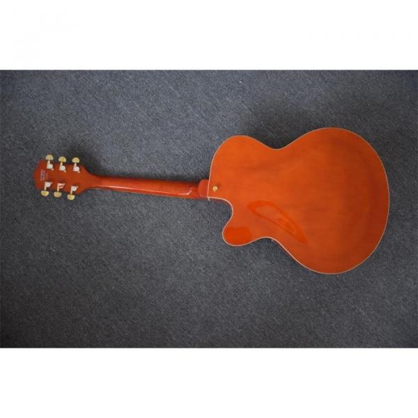 Custom Build Gretsch Orange Horseshoe Brian Setzer Bigsby Guitar #8 image