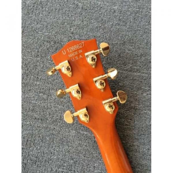 Custom Build Gretsch G6136TBK Orange Falcon Bigsby Guitar #7 image