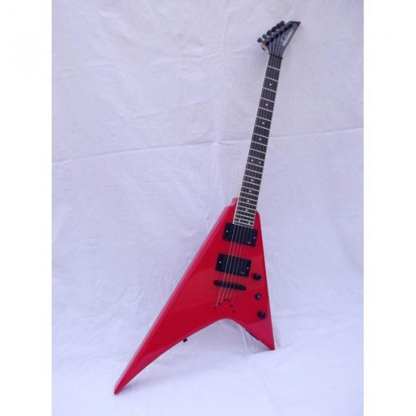 Custom Shop Jackson Red Electric Guitar #9 image