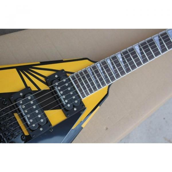 Custom Shop Jackson Randy Rhoads Yellow Stripe Electric Guitar #6 image