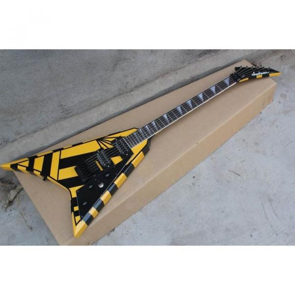 Custom Shop Jackson Randy Rhoads Yellow Stripe Electric Guitar #10 image