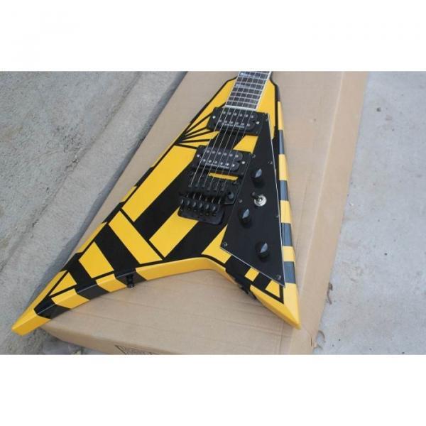Custom Shop Jackson Randy Rhoads Yellow Stripe Electric Guitar #14 image