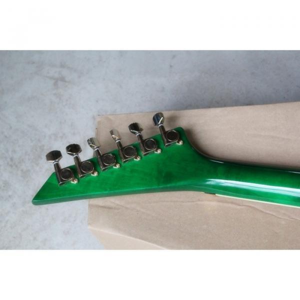 Custom Shop Jackson KE2 Green Electric Guitar #6 image