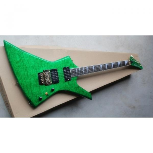 Custom Shop Jackson KE2 Green Electric Guitar #7 image