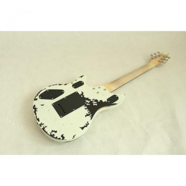 Custom Shop EVH Peavey Electric Guitar Relic Vintage White #7 image