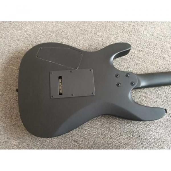 Custom Shop EVL K4 Cort Black Electric Guitar #6 image