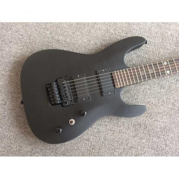 Custom Shop EVL K4 Cort Black Electric Guitar #8 image
