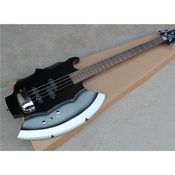 Custom Shop Cort Axe Black Gene Simmons 4 String Bass #6 image