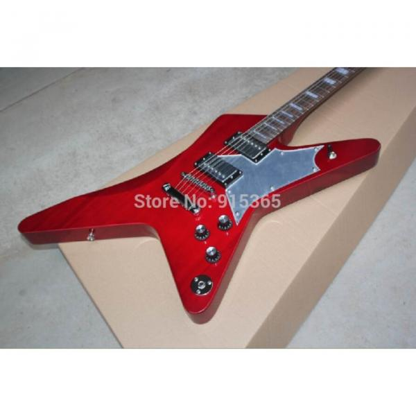 Custom Shop Red Crying Star ESP Electric Guitar #6 image