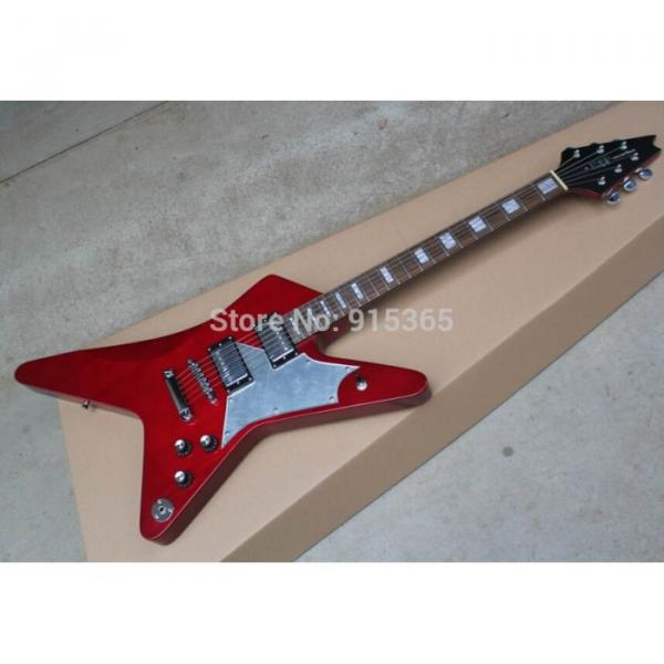 Custom Shop Red Crying Star ESP Electric Guitar #7 image