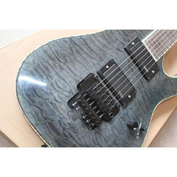 Custom Shop Fire Hawk ESP LTD Gray Electric Guitar #7 image