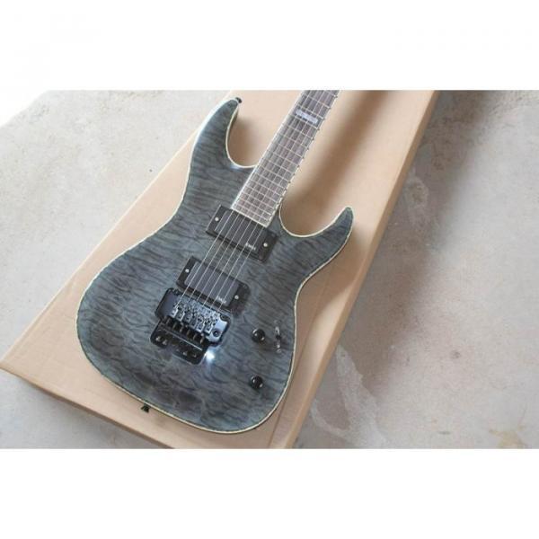 Custom Shop Fire Hawk ESP LTD Gray Electric Guitar #8 image