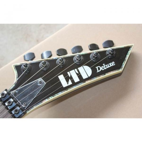 Custom Shop Fire Hawk ESP LTD Gray Electric Guitar #11 image
