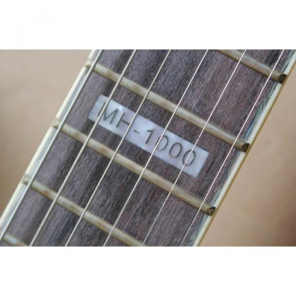 Custom Shop Fire Hawk ESP LTD Gray Electric Guitar #15 image