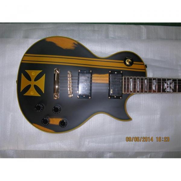 Custom Shop ESP Metallica James Hetfield Iron Cross Guitar #6 image