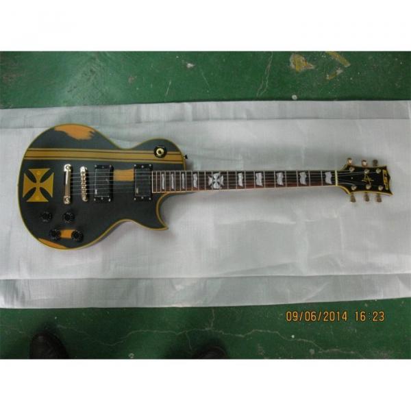 Custom Shop ESP Metallica James Hetfield Iron Cross Guitar #8 image